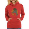 The fox and the hedgehog Womens Hoodie