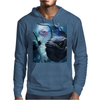 The frogfish with bubbles Mens Hoodie