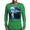 The frogfish with bubbles Mens Long Sleeve T-Shirt