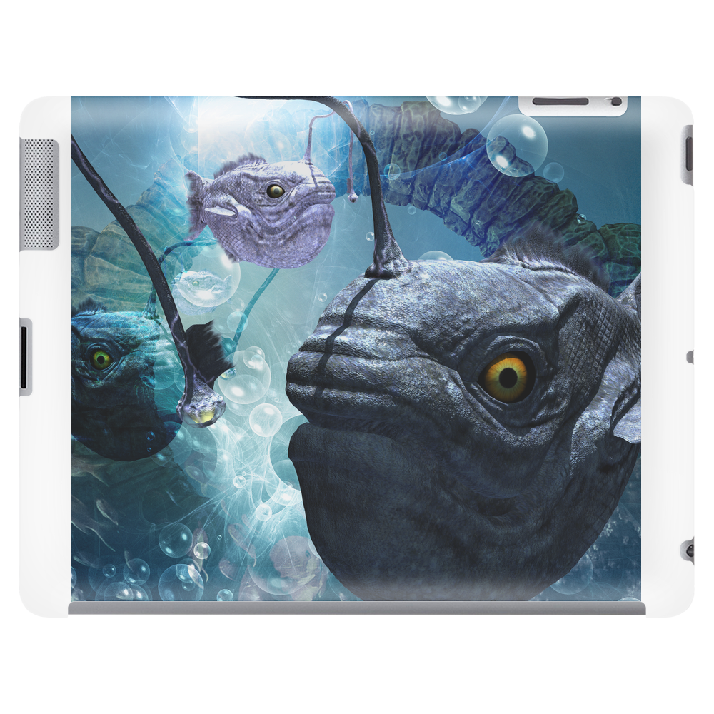 The frogfish with bubbles Tablet