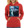The frogfish with bubbles Womens Hoodie