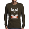 The Game Of Thrones Hodor Obey Mens Long Sleeve T-Shirt