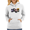 The Game Of Thrones - My Favourite Characters - 80s Style - Jon Snow, Khaleesi, Tyrion, Bran Stark Womens Hoodie