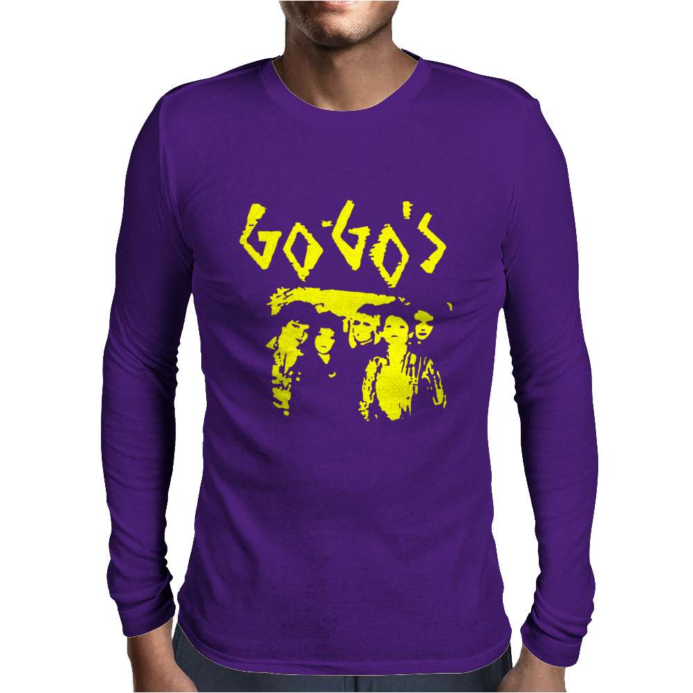The Go-Gos Mens Long Sleeve T-Shirt