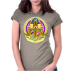 The Golden Shepherd - Children of Bethlehem Church (Real artwork for fake businesses series) Womens Fitted T-Shirt