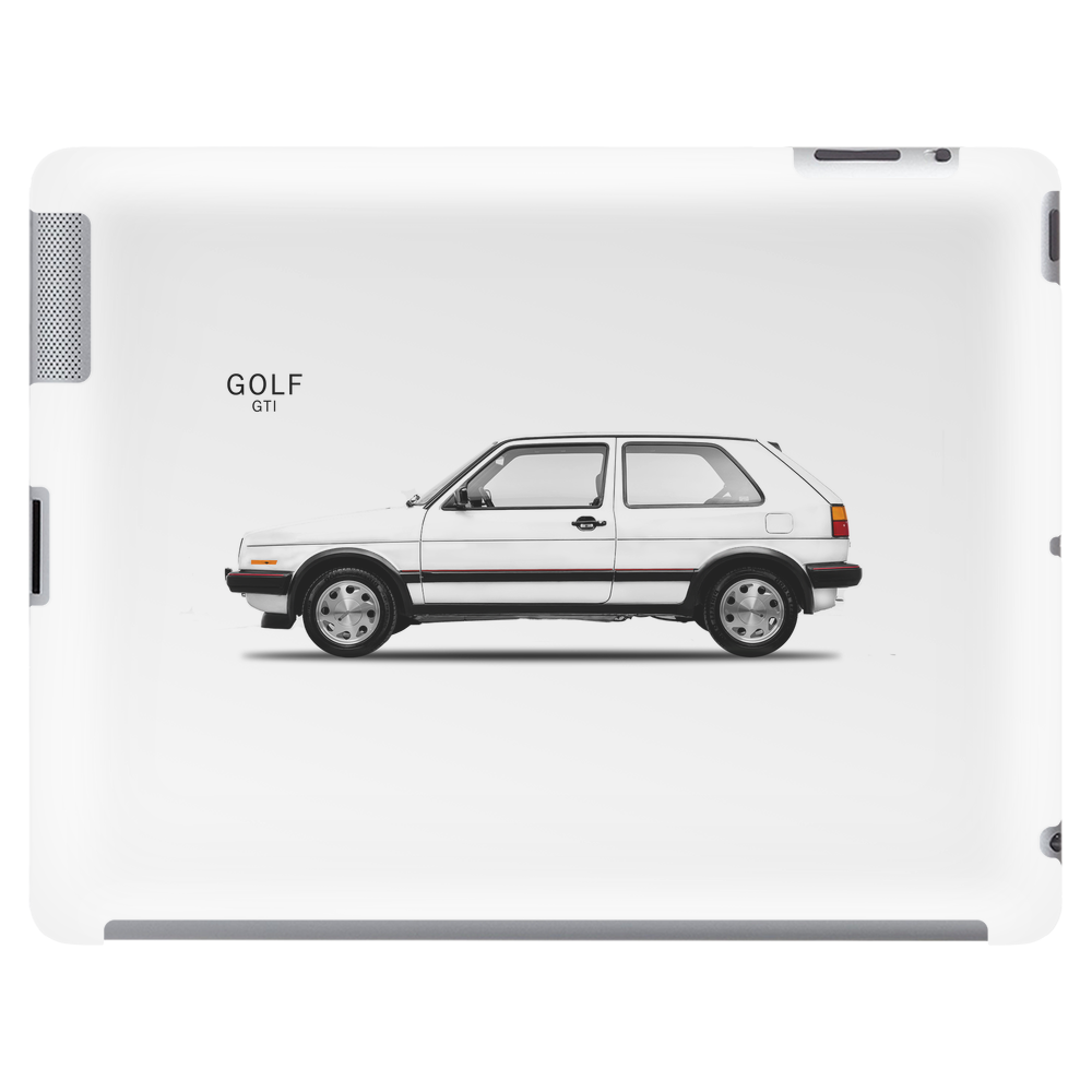 The Golf GTi Tablet (horizontal)