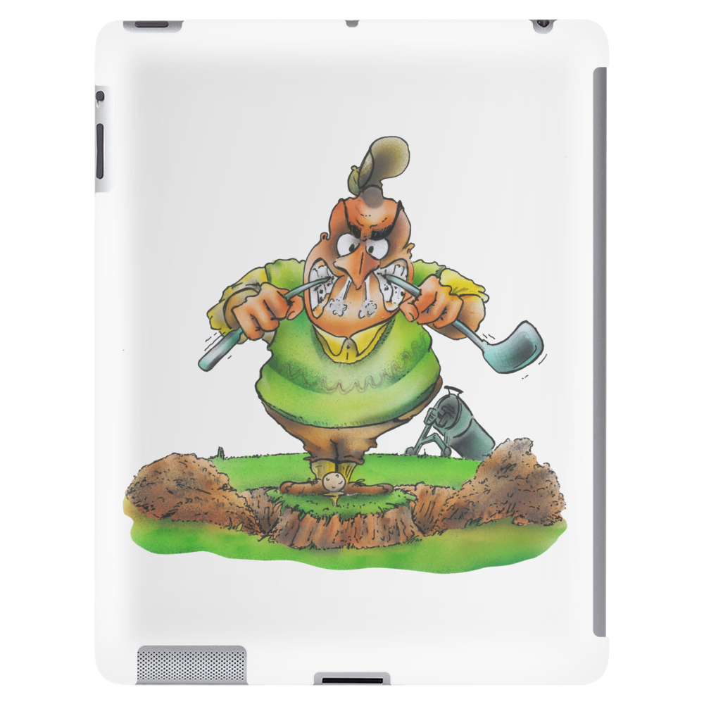 The Golfer Tablet (vertical)