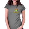 The Golfer Womens Fitted T-Shirt