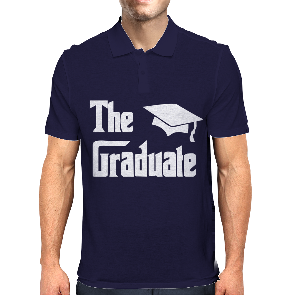 The Graduate Graduation Mens Polo