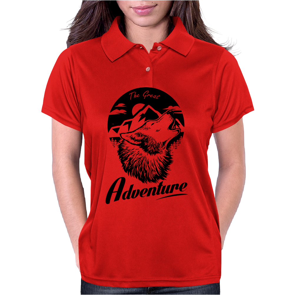 THE GREAT ADVENTURE Womens Polo