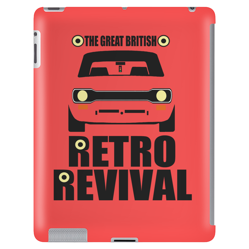 The Great British Retro Revival Men's Escort Tablet