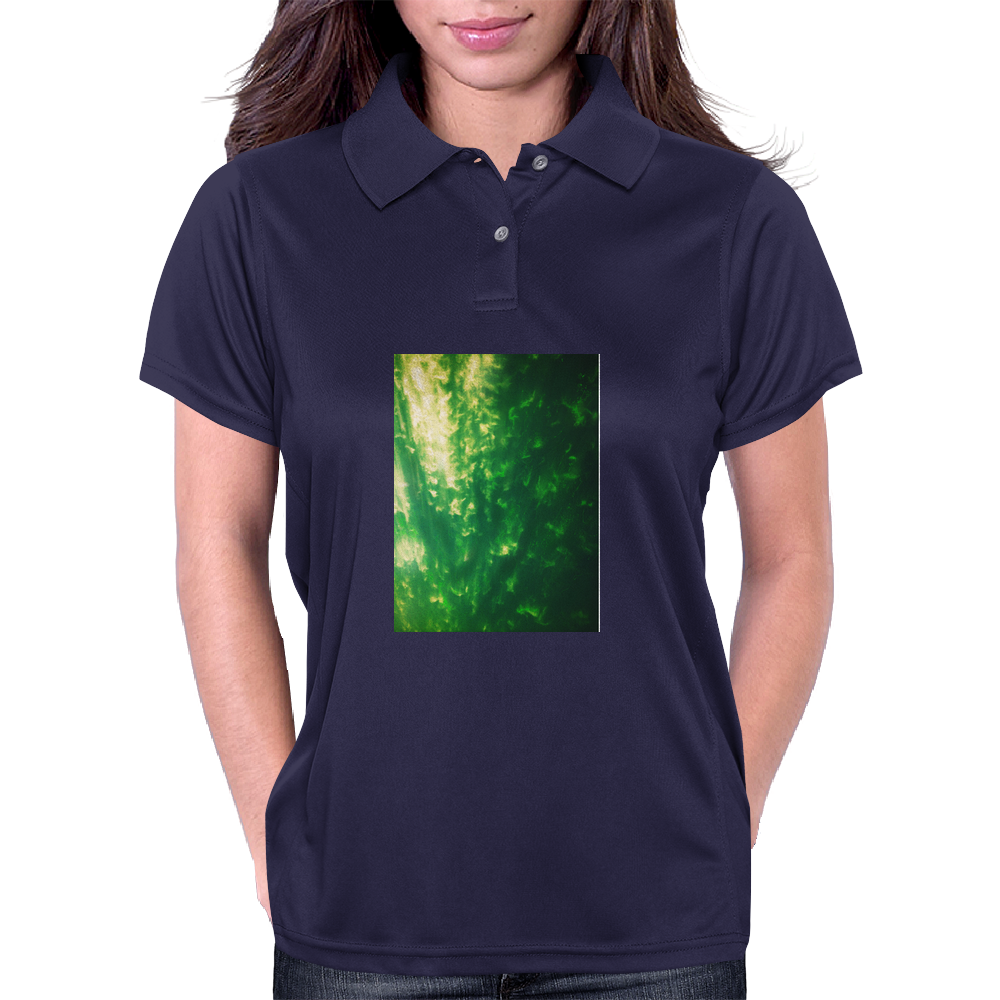 The Green sky Womens Polo