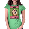 The Hanged Man Tarot Card – number 12, Le Pendu. Womens Fitted T-Shirt