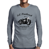 The Harley FL Panhead Mens Long Sleeve T-Shirt