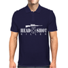 The Headshot Killer Sniper Mens Polo