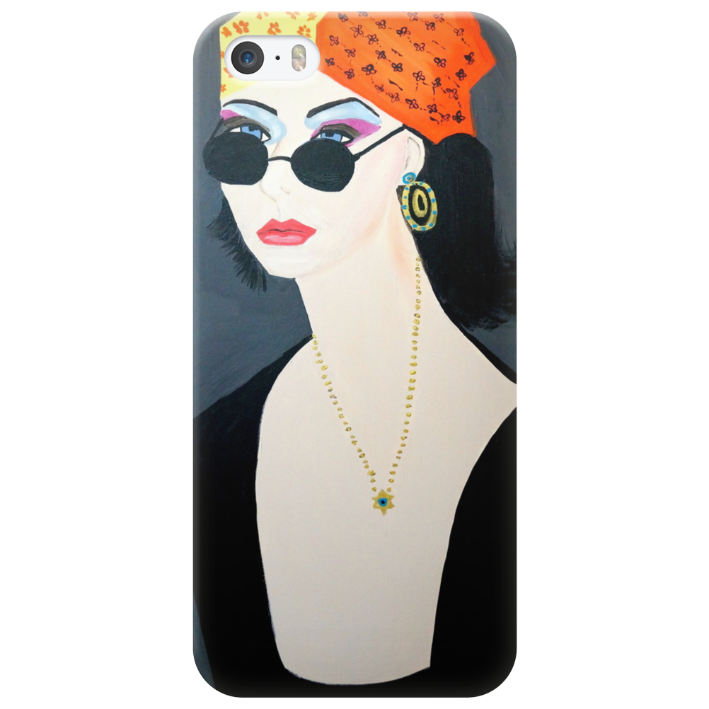 THE HIPPY GIRL  ROCKY Phone Case
