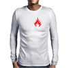 The Huf Is On Fire Mens Long Sleeve T-Shirt