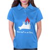 The Huf Is On Fire Womens Polo