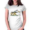 The Huge Object Womens Fitted T-Shirt