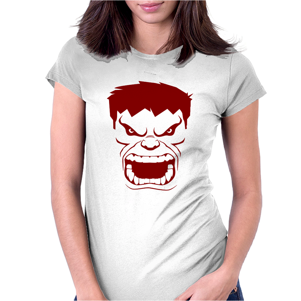 The Hulk Avengers Marvel Womens Fitted T-Shirt