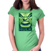 The Hulk Poster, Ideal Gift or Birthday Present. Womens Fitted T-Shirt