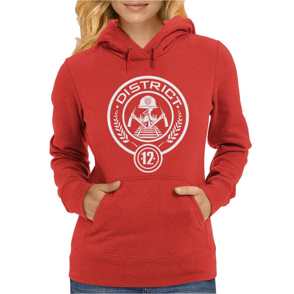 The Hunger Games District 12 Womens Hoodie