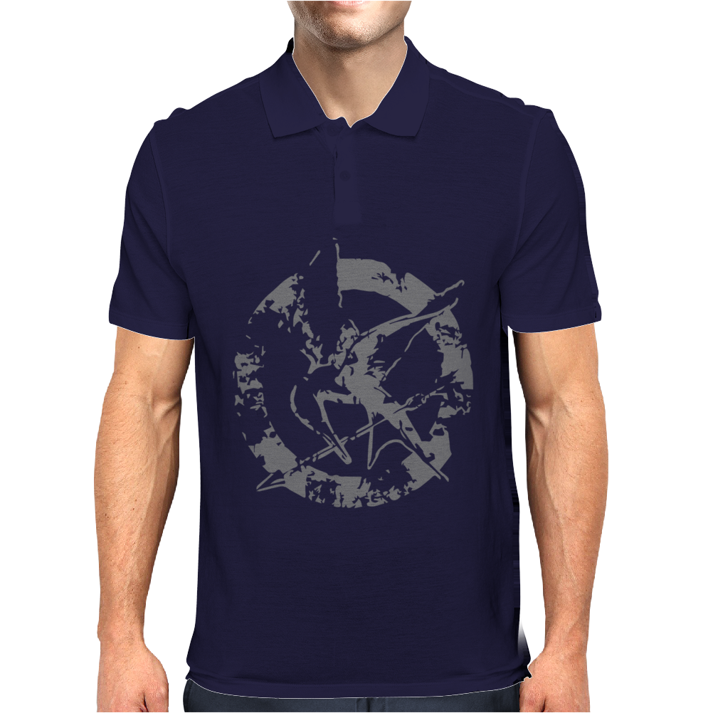 The Hunger Games Mens Polo
