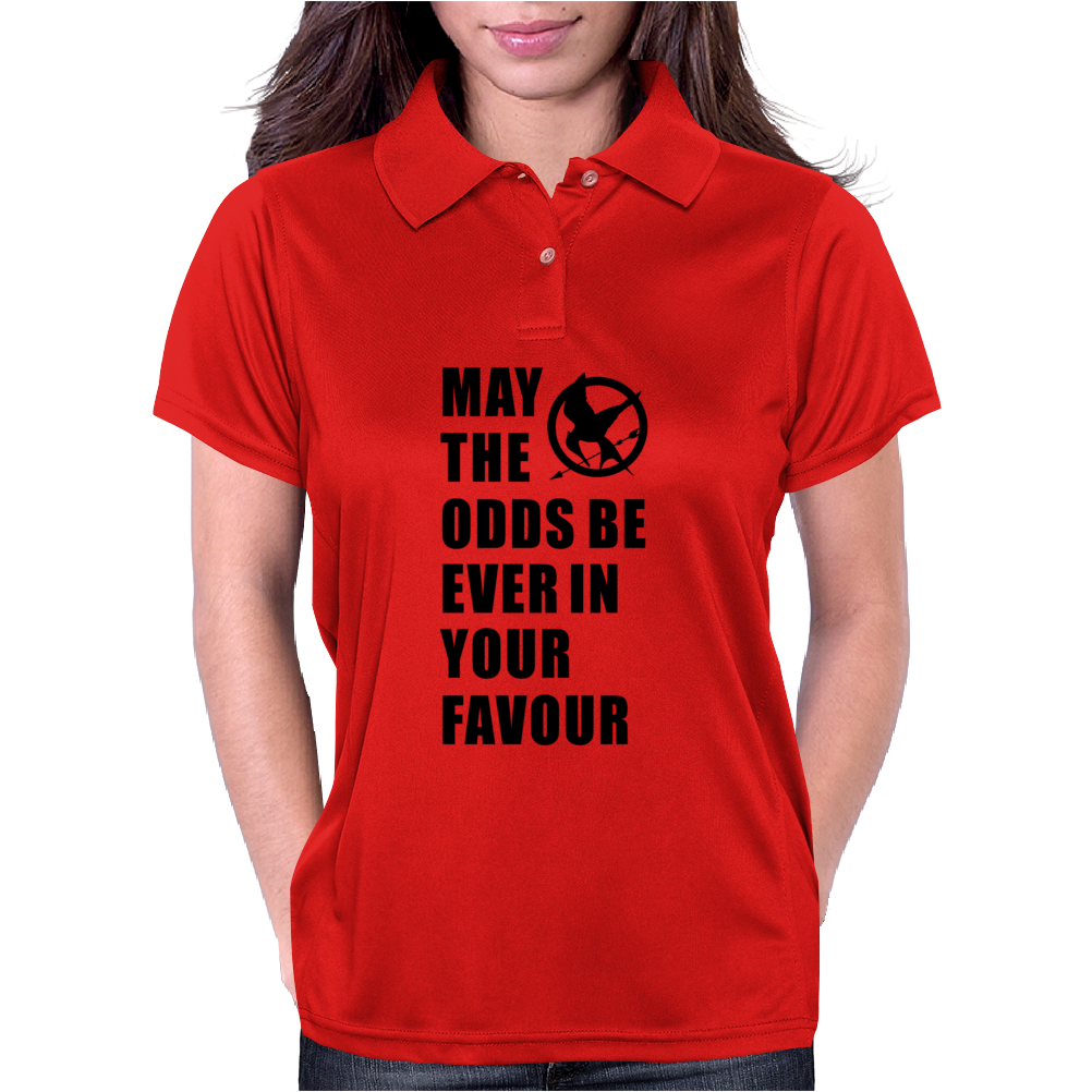 THE HUNGER GAMES. Womens Polo