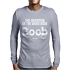 The Invention Of Boob Funny Mens Long Sleeve T-Shirt