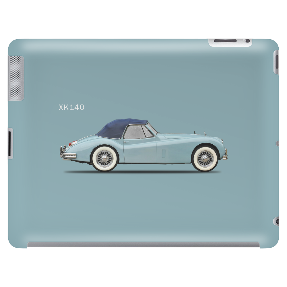 The Jaguar XK140 Tablet (horizontal)