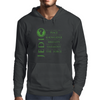 The Jedi Code (Green) Mens Hoodie