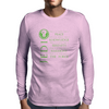 The Jedi Code (Green) Mens Long Sleeve T-Shirt
