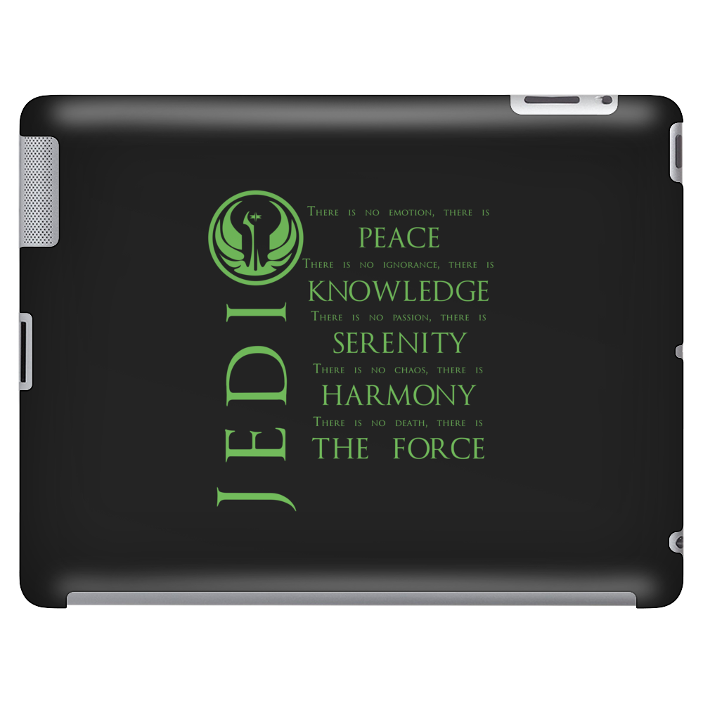 The Jedi Code (Green) Tablet (horizontal)