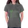 The Jedi Code (Green) Womens Polo