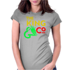 The king and co Womens Fitted T-Shirt
