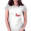 The kingpin Womens Fitted T-Shirt