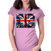 The Kray Twins Union Jack Womens Fitted T-Shirt