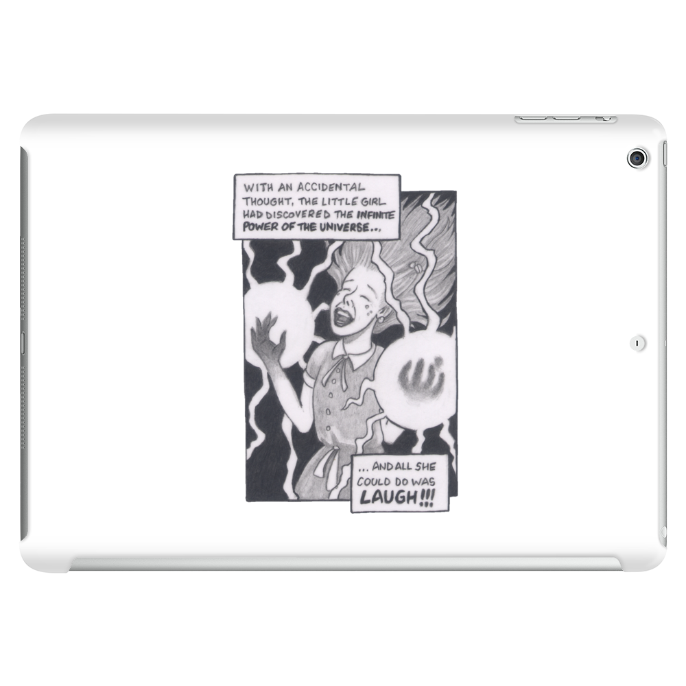 The Laughing Girl Tablet (horizontal)