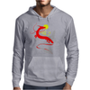 The little girl and the dragon Mens Hoodie