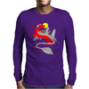 The little girl and the dragon Mens Long Sleeve T-Shirt