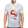 The little girl and the dragon Mens Polo
