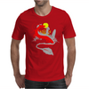 The little girl and the dragon Mens T-Shirt