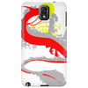 The little girl and the dragon Phone Case