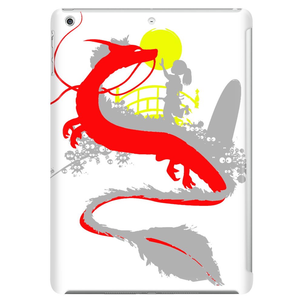 The little girl and the dragon Tablet