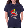 The little girl and the dragon Womens Polo