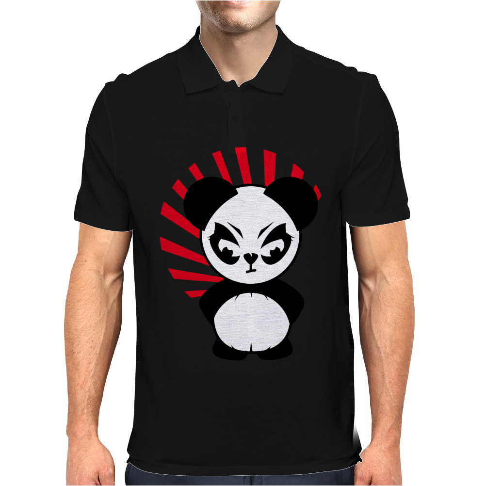 The Little Panda Mens Polo