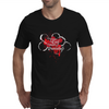 The Liver is Evil it Must be Punished - on black Mens T-Shirt