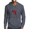 The Liver is Evil it Must be Punished - on white v2 Mens Hoodie