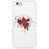 The Liver is Evil it Must be Punished - on white v2 Phone Case
