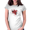 The Liver is Evil it Must be Punished - on white v2 Womens Fitted T-Shirt